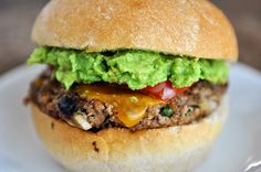 Jalapeno Cheddar Turkey Burgers via Mel's Kitchen Cafe :: These are INSANE. Everyone from the two year old to the daddy loved 'em. And like the instructions say, SO good with guacamole.
