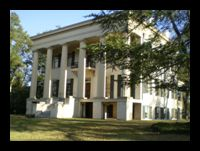 Lockerly Hall    Lockerly Hall Lockerly Hall, an antebellum mansion formerly known as Rose Hill, was built about 1852. It is one of the area's finest examples of Greek Revival architecture and is furnished with historically-appropriate pieces.