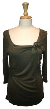 Three Dots Olive Long Sleeve Scoop Size Xl T Shirt Army Green. This Three Dots Army Green  T Shirt is one of Tradesy's Top Ten deals of the week!
