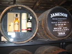 Jameson distillery, Dublin Ireland
