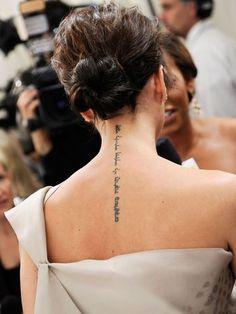 Tatuagem para nuca, tatuagens nuca, tattoo nuca, imagens, fotos, sugestões