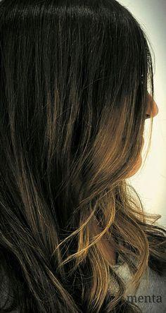 Buenos días de septiembre!!! comenzamos el mes pintando melenas con un BRONDER para morenas #menta_zaragoza  #balayage #hairpainting