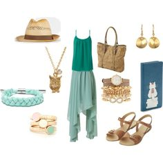 """""""On the Last Day of Summer, A Small Breeze Was Stirring"""" by c-couzens on Polyvore"""