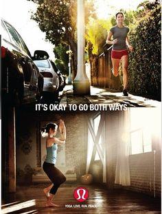 I'm a running yogi! Namaste !!!