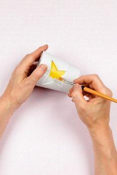 Beton gießen Schritt 5: Anmalen + dekorieren