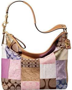 coach black and gray purse vlf2  Coach handbag I like these