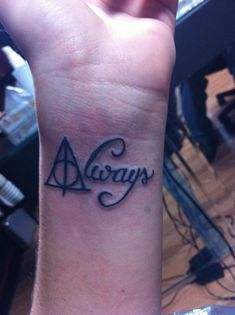 Every HP fan heart just skipped a beat. | 18 Of The Most Awesomely Geeky Tattoos