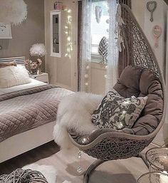 grey combination of bedroom