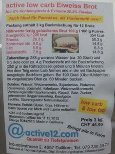 Die active low carb Eiweiss Backmischung low carb & low fat für Brot & Backwaren jetzt auch im 3kg-Sparpreis-Sack. Schon gewusst? - Auch verwendbar als Zutat für Pancakes, als Paniermehl usw. Hell wie Weissbrot und trotzdem tiefer glykämischer Index, ohne Körner, angenehmer Geschmack!
