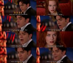 Moulin Rouge <3 I <3 EWAN MCGREGOR!!