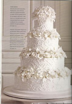 From the Wilton Wedding Style Book -ISBN - 978-1-934089-13-2