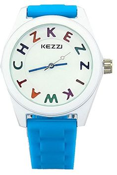 Kezzi Kids' Watches K662 Quartz Analog Silicone Wrist Watch Waterproof Boy Girl Light Blue Kezzi http://www.amazon.com/dp/B00P25KRLA/ref=cm_sw_r_pi_dp_T3Epvb07YSPXE