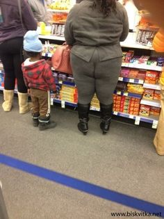 Aaaaaand once again... leggings are not pants! Reason # 1097!!!   Funny pictures 18-10-2013 » Biskvitka.net