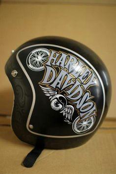 Custom Helmets & Gear Inspiration | Bobber & Chopper Motorcycles | Old school vintage style bike art & apparel