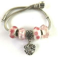 Details About Rubyca Silver Plated Snake Bracelet Screw