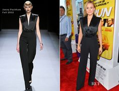 Kristen Bell In Jenny Packham - 'Hit and Run' LA Premiere