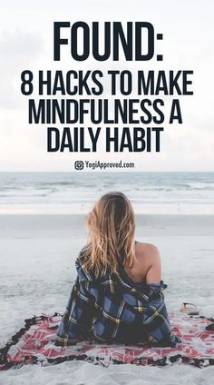 What if you could make mindfulness a habit? What if you could reduce the amount of your life that passes you by in the mindless cycle of routine?