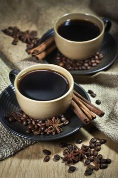It doesn't matter where you're from - or how you feel . . . There's always peace in a strong cup of coffee.