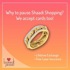 Why wait to own your favorite jewels?  www.boxedjewel.com lets you buy jewellery using all bank cards!  #Jewellery #Rings