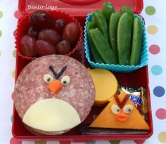 Bento-logy: Angry birds lunch.... SCREW KIDS id pack this for my self