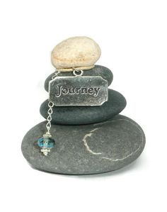 Journey Rock Cairn Life Path Travel Zen by CedarwoodCreations