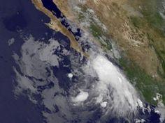 Tormenta tropical Dora se forma frente a costa de México