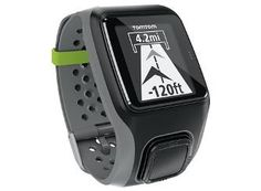 TomTom Multi-Sport GPS Watch for triathletes tracks running, swimming, and bicycling, indoors and out. It's not as cutting edge as some products that include strapless heart rate monitoring, but it's a good device with a fantastic design.