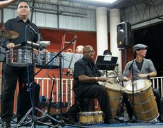 Timbal on Bomba Time
