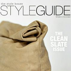 The Style Guide. A digital publication from The Style House Style Guides, Digital, Sweatshirts, Simple, House, Fashion, Moda, Home, Fashion Styles