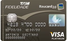 TAM | Fidelidade | Cartão de Crédito Visa Platinum | Itaucard 2.0