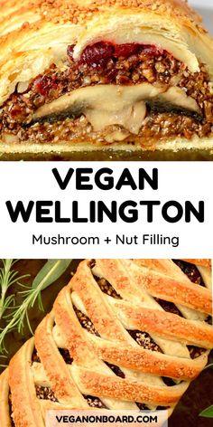 Vegan Mushroom Wellington