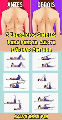 Comandante Castro ll. 3 Exercícios Simples Para Perder Culote e Afinar Cintura! Fitness Workouts, Easy Workouts, Yoga Fitness, At Home Workouts, Fitness Motivation, Health Fitness, Training Workouts, Enjoy Fitness, Fitness Classes