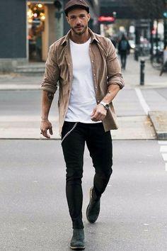 Street style ideas, trends, men's fashion 2018