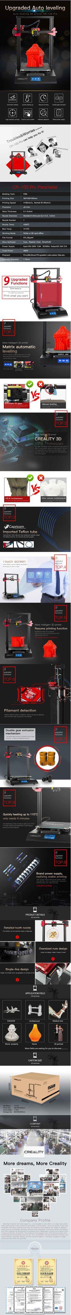 10 parasta kuvaa: Creality 3D-tulostin – 2019