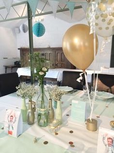 How to organize a party? Here are some tips for a successful communi . Kids Events, Runes, Diy And Crafts, Projects To Try, Baby Shower, Table Decorations, Birthday, Party, Wedding