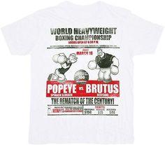 Popeye the Sailor Man Brutus Rematch T-shirt