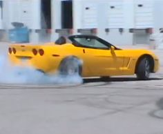 """Dad of the year? """"My daughter does killer donuts in a #Corvette ZHZ"""" Hit the pic to watch the #viralvideo..."""