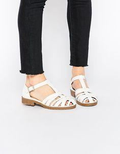 Image 1 ofASOS MANSION Flat Shoes