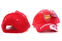 Chapeau Arsenal Rouge 03 2013 2014 #chapeau Liverpool, Equipement Football, Arsenal, Baseball Hats, Flocking, Red, Baseball Caps, Baseball Hat, Arsenal F.c.