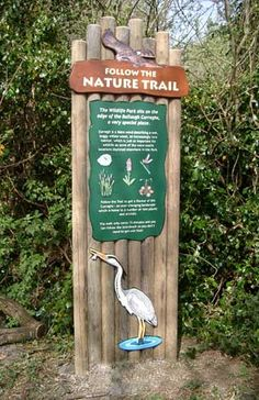 cool nature trail signs - Google Search