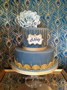 1920's Chic - by Cupcakeckusters @ CakesDecor.com - cake decorating website