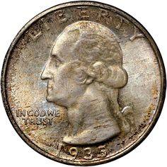 1935 D 25C MS