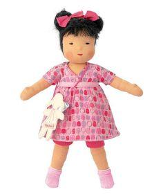 Look at this #zulilyfind! 15'' Waldorf Miyu Doll by Käthe Kruse #zulilyfinds