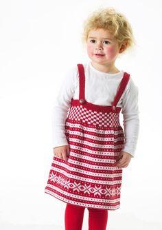 Tema Modell 24 B Fana selskjørt lanett Baby Barn, 30th, Apron, Dresser, Crafts For Kids, Fans, Knitting, Pattern, Babies
