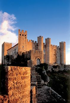 Portugal - Óbidos medieval castle and fortified wallls village Photo by Rui Cunha