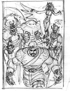 Comic Book Artists, Comic Books Art, Art Reference Poses, Drawing Reference, John Romita Jr, Comic Layout, John Buscema, Jr Art, Anatomy Drawing