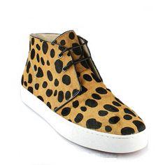 Christian Louboutin Pony Leopard Sneakers