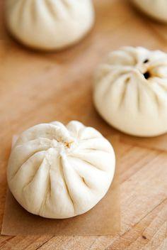 Char siu bao (Chinese steamed BBQ pork buns)