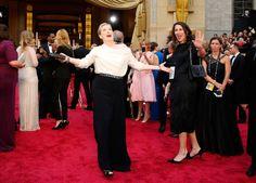 Oscar 2014- Meryl Streep on  red carpet.