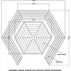 Dedeman Set masa cu 5 banci pentru gradina Dafios din lemn - Dedicat planurilor tale